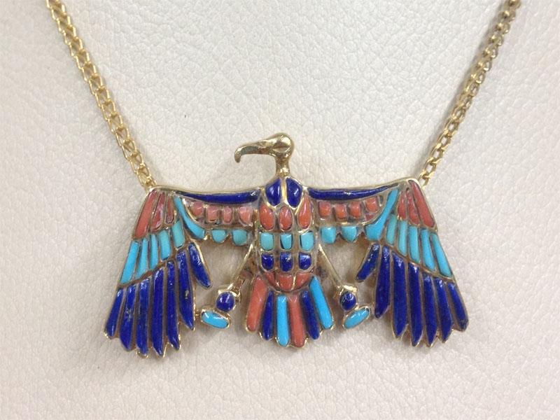 Winged Horus